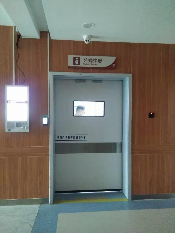 人脸可视门禁助力白银市妇幼医院