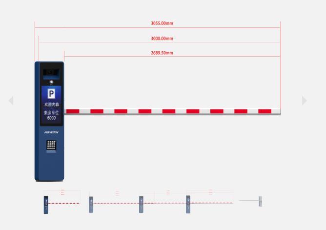 DS-TMG800-BR全新一体化道闸