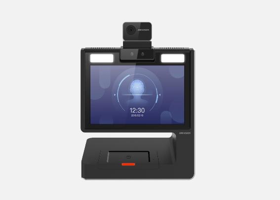 DS-K5032-3XFD 测温版双屏安卓访客机