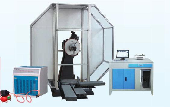 低温自动送料全自动冲击试验机-40度300J