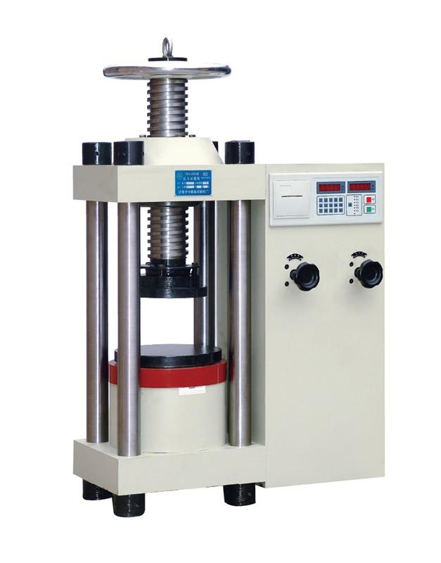 手动丝杆数显压力试验机YES-2000