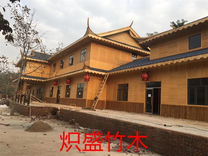 竹木建筑公司成都竹楼工程案例