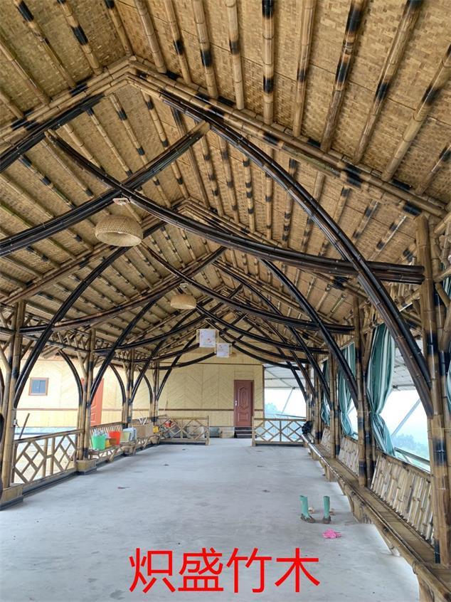 炽盛竹木建筑公司成都竹廊工程案例