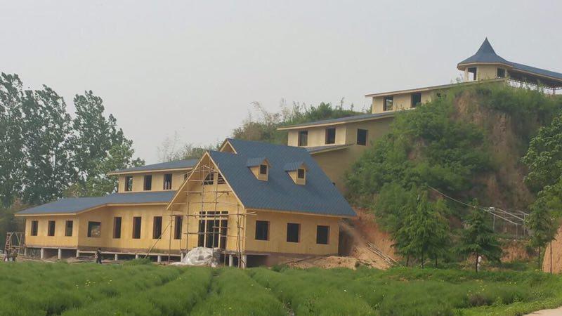 四川竹屋在地震中有很强的防御能力