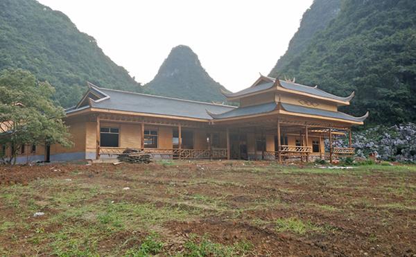 较具代表特色的竹木建筑——傣族竹楼