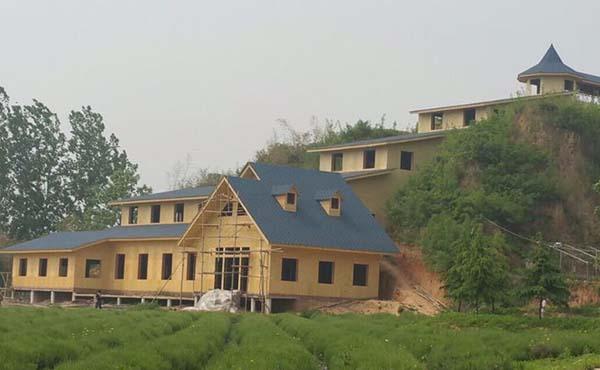 成都竹木建筑