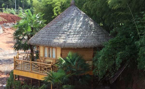傣族特色建筑-竹楼,你值得拥有