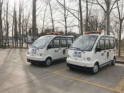 银川海关采购2台巡逻车