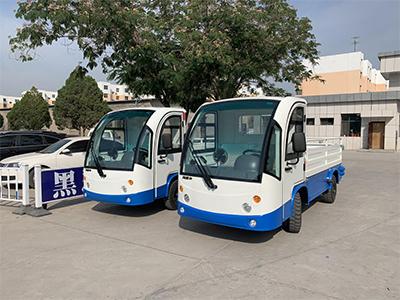 银川监狱采购2台电动货车