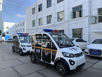 海原县公安局采购2台巡逻车