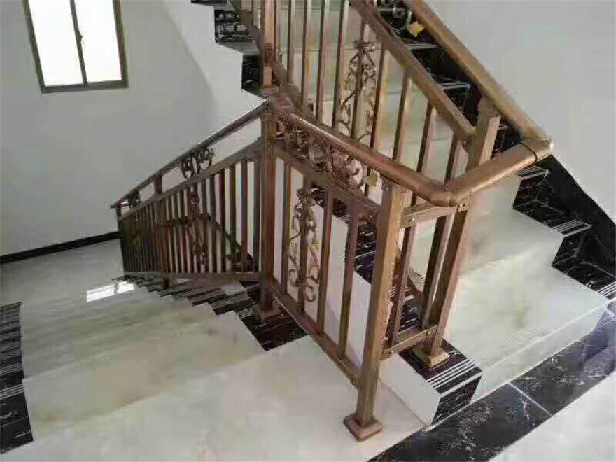 巴中锌钢楼梯扶手