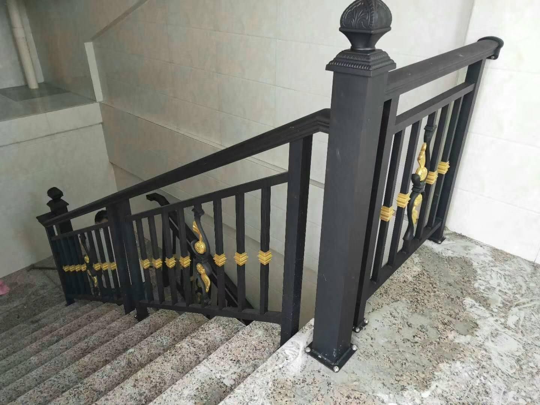 巴中鋅鋼樓梯扶手案例展示