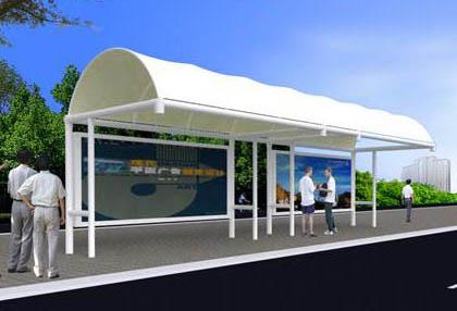 公交站膜结构厂家告诉你有哪些膜结构系列