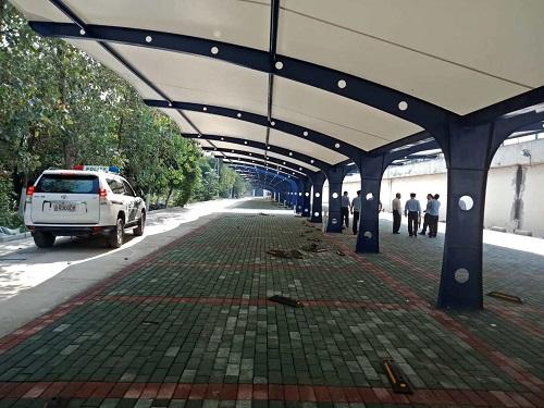 停车场膜结构工程案例
