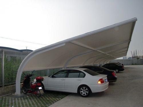 方然膜结构告诉你成都膜结构车棚是怎样排水的?