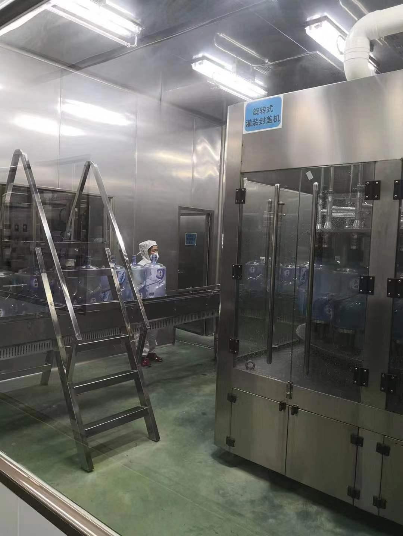 益百岁矿泉水厂家生产桶装水