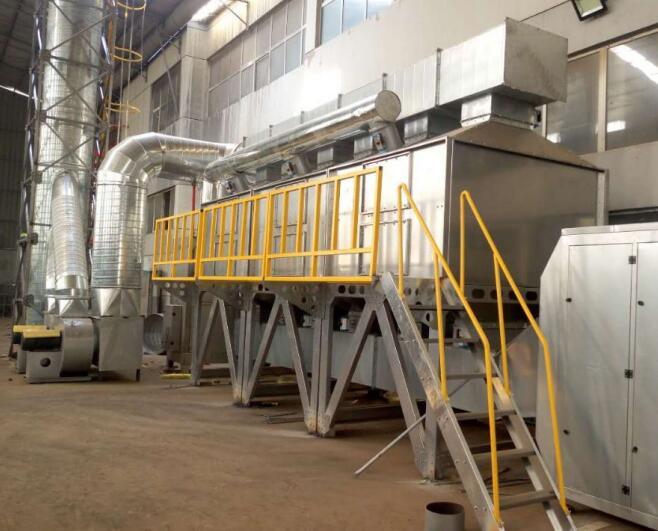 催化燃烧设备厂房