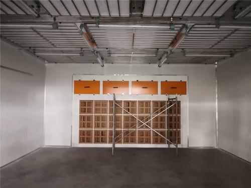 移动伸缩式喷漆房的工艺要求