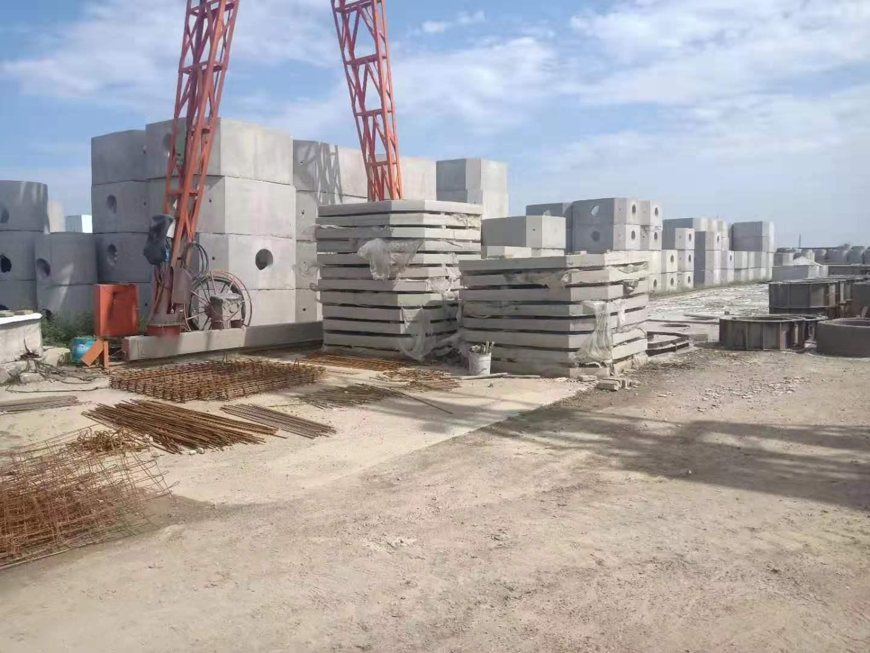 贺欣建材-呼和浩特化粪池生产厂区环境