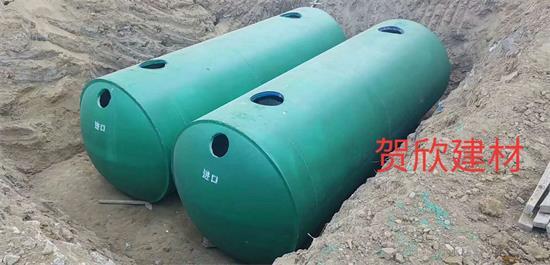 钢筋砼地埋式新型化粪池
