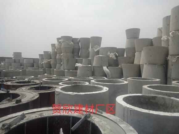 贺欣建材-内蒙古水泥制品厂区施工环境