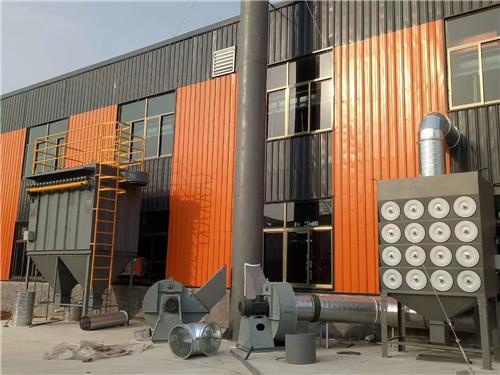 河南除尘设备厂家-小型锅炉布袋除尘器