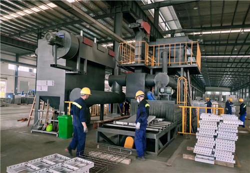 铝模板抛丸机生产厂家解析铝模板抛丸机