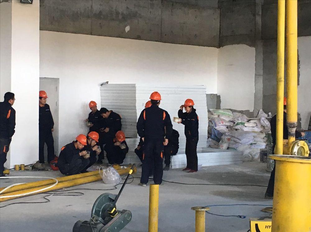 高爐鼓風機生產檢修項目