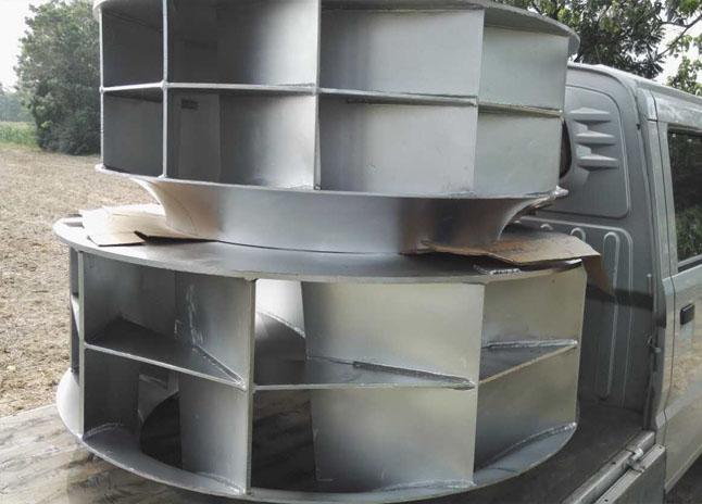 西安工业用通风机叶轮