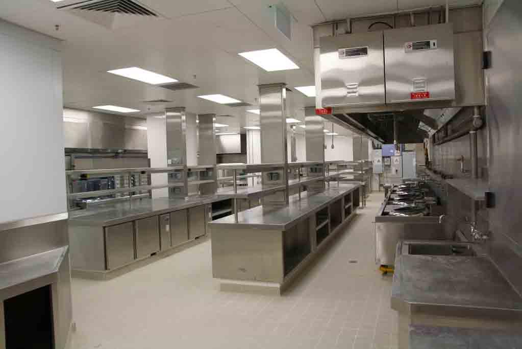 食堂厨房设备现场