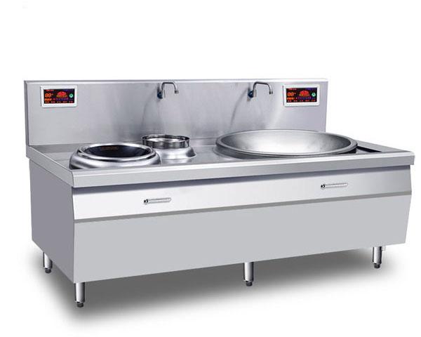 成都中央厨房设备-一炒一温电磁锅