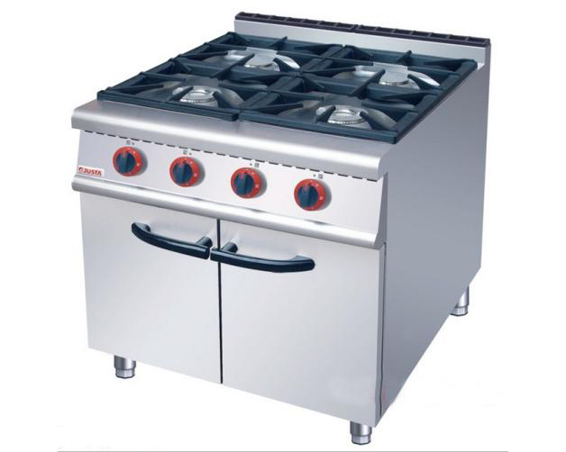 成都厨房设备-落地式四头煲仔炉