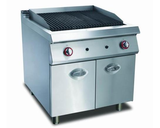 四川厨房设备-落地式火山石烧烤炉