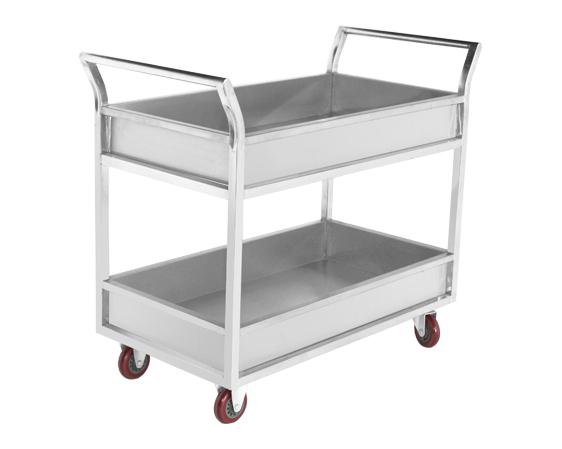 成都厨房设备-双层收餐车