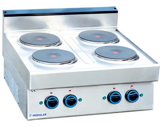 四川厨房设备公司-台式四头电煮食炉