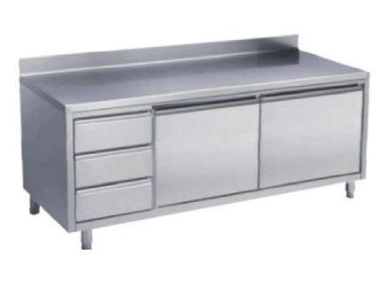 四川厨房设备-带抽屉工作柜