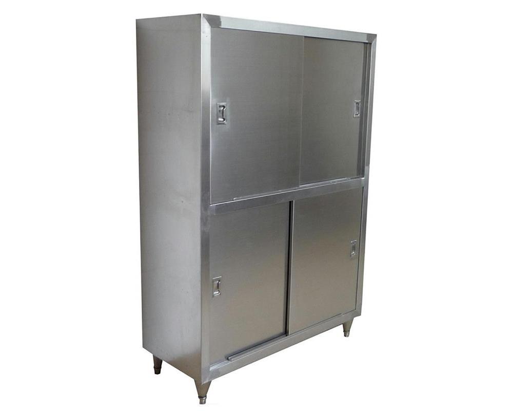 四川厨房设备-四门不锈钢碗柜