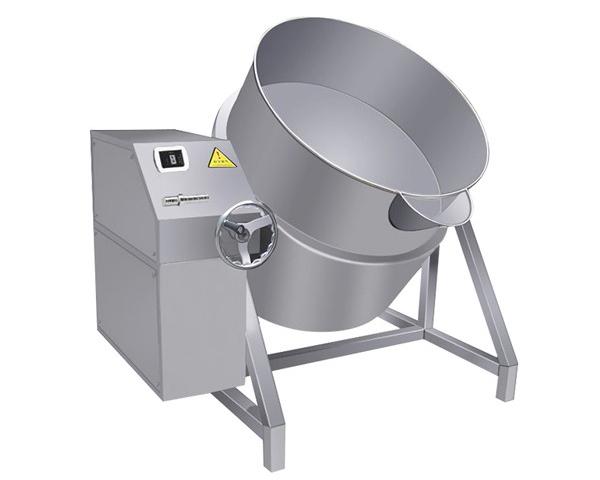 四川酒店厨房设备-手动可倾电汤锅