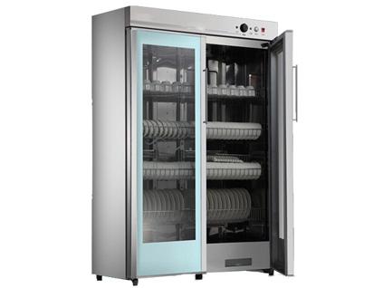 成都厨房设备-双玻璃门消毒柜