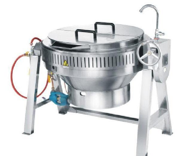 四川吧台厨房设备-可倾斜式稀饭锅