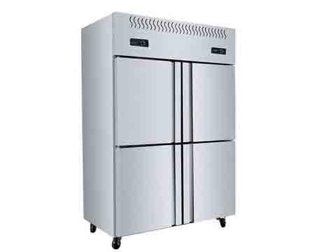 四川酒店厨房设备-四门冰箱