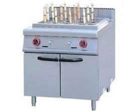 南充厨房设备公司-煮面炉连柜座