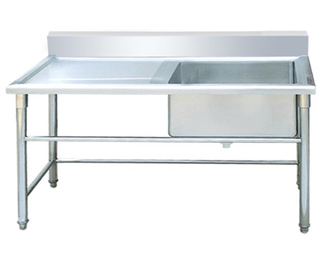 成都厨房设备-单星水池带台