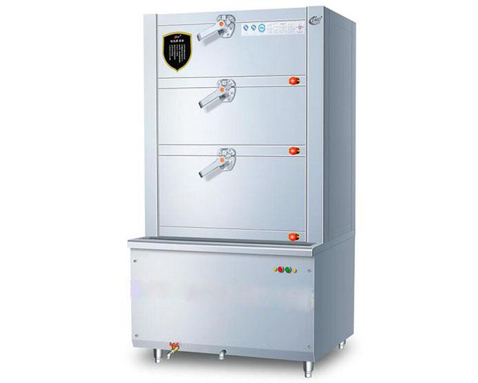 成都吧台厨房设备-三门海鲜蒸柜
