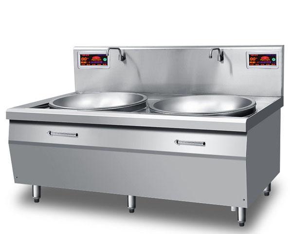 成都酒店厨房设备-电磁炉双口锅