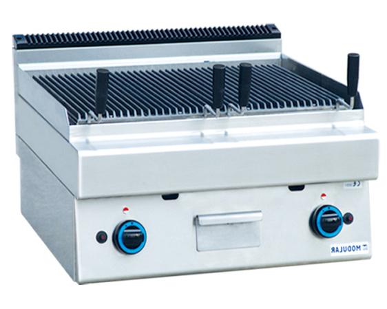 四川厨房设备公司-台式燃气双头烧烤炉