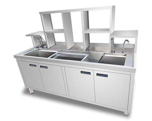 宜宾甜杏视频设备-不锈钢水吧柜