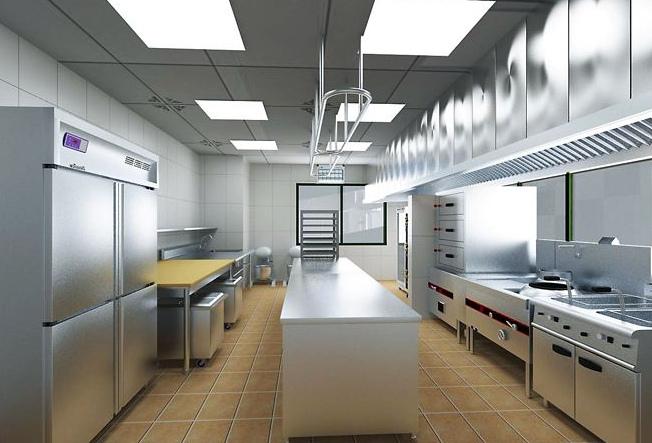 酒店厨房设备施工现场