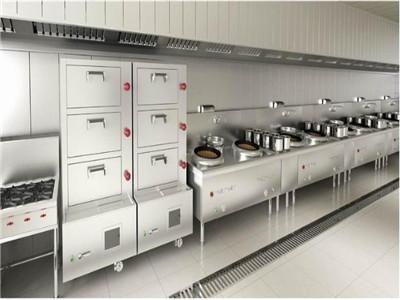 酒店厨房设备厂家分析排烟机的安装注意事项