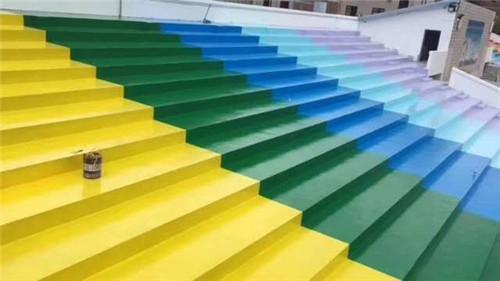 彩色透水地坪的养护与施工方法,今天新疆环氧地坪施工方教给你们